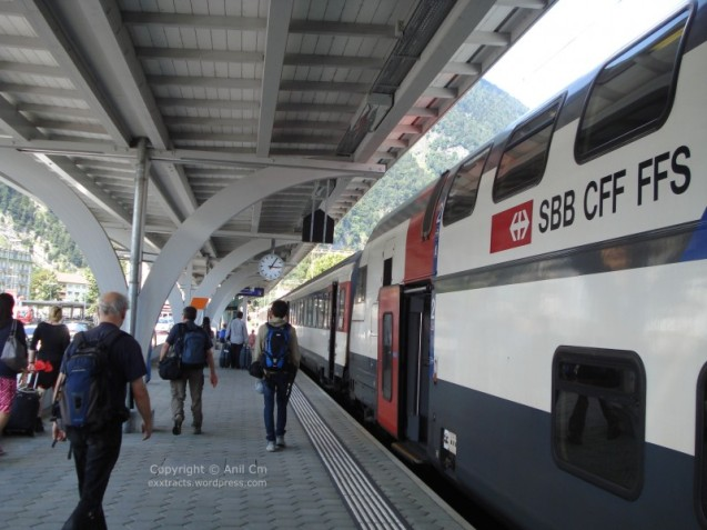 Swiss Double decker train-1